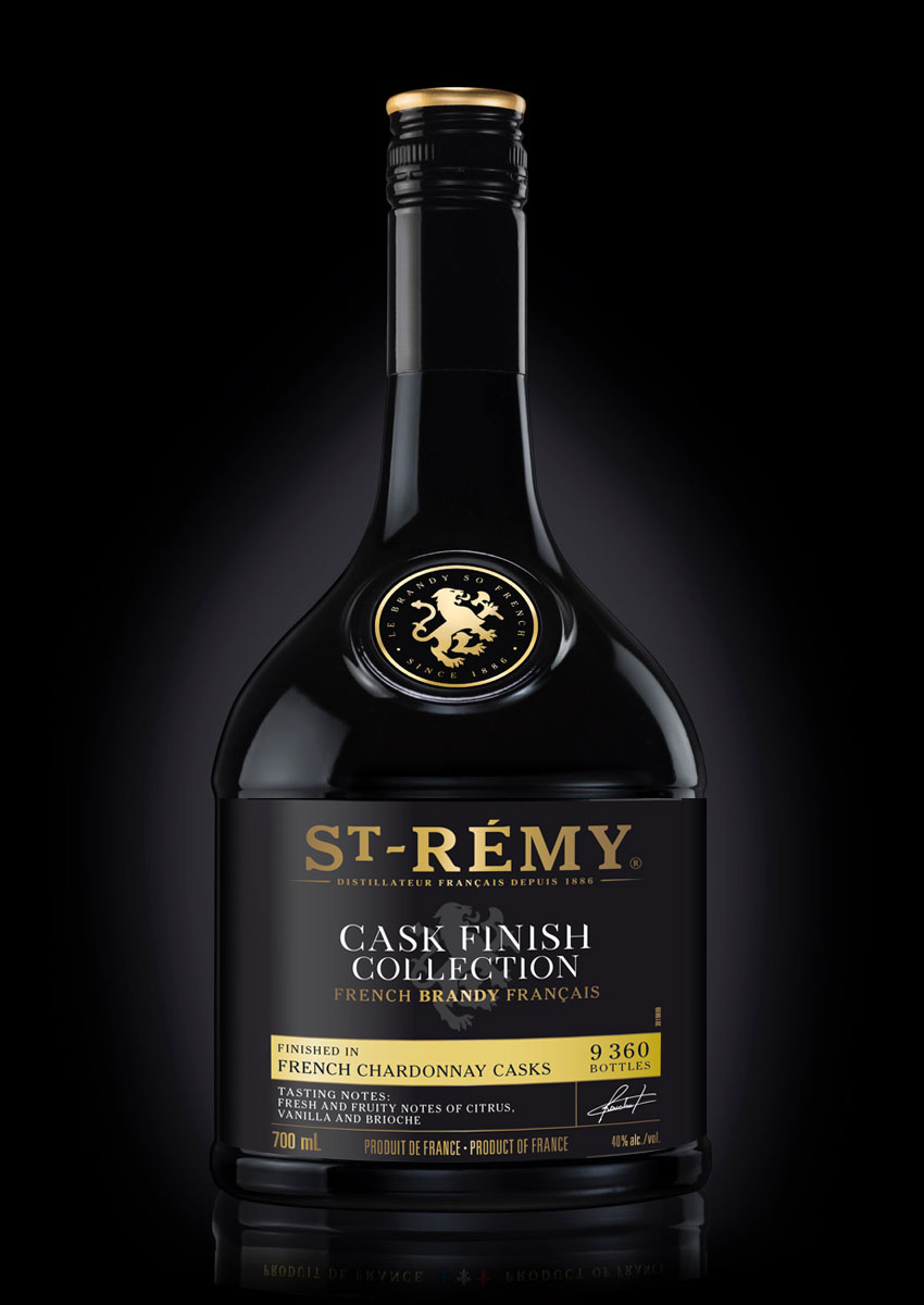 St-Rémy French Chardonnay Casks bottle