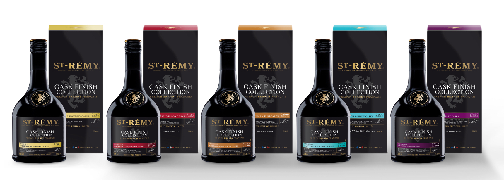 THE CASK FINISH COLLECTION CONTINUES TO GROW